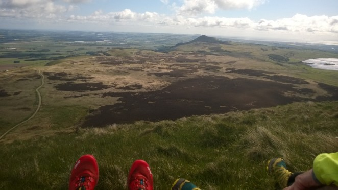 View from West Lomond this morning