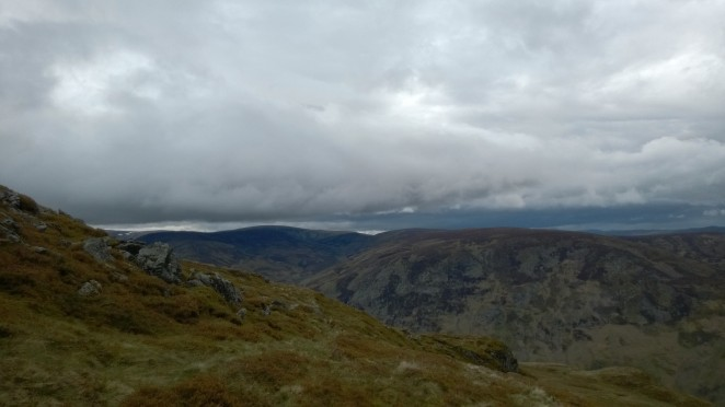 Looking North toward the Cairngorms