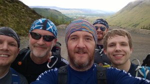 More selfie action in Glen Nevis