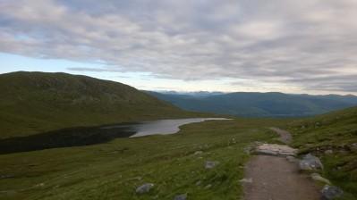 7am above the Lochann