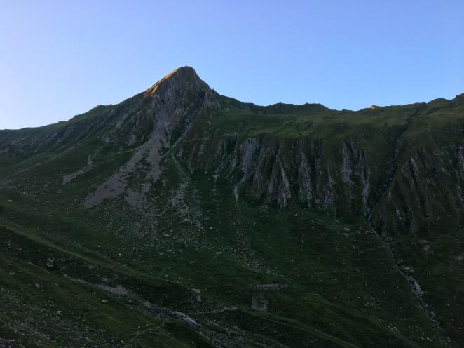Last section up to Passeur Praglonan